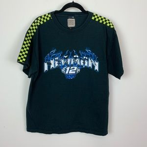 NASCAR Ryan Newman furst of a kind graphic tee L